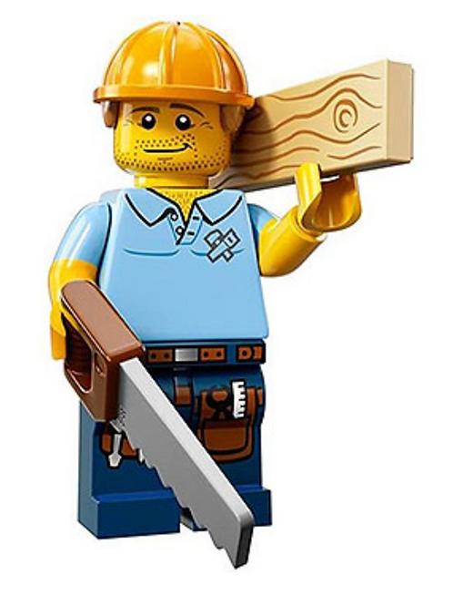 Lego Minifigür Seri 13 Carpenter No:9