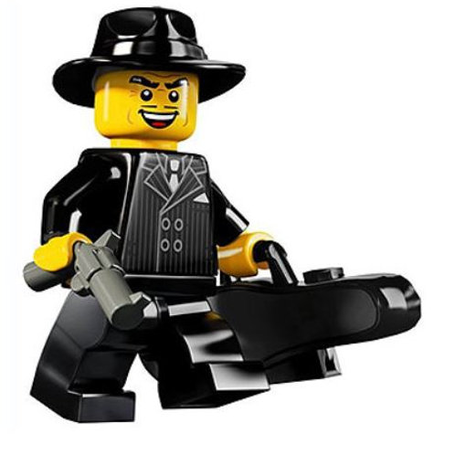Lego Minifigür Seri 5 Gangster No:15