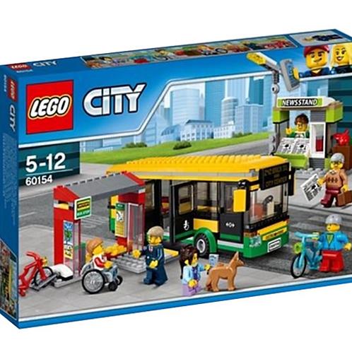 Lego City 60154 Otobüs Durağı