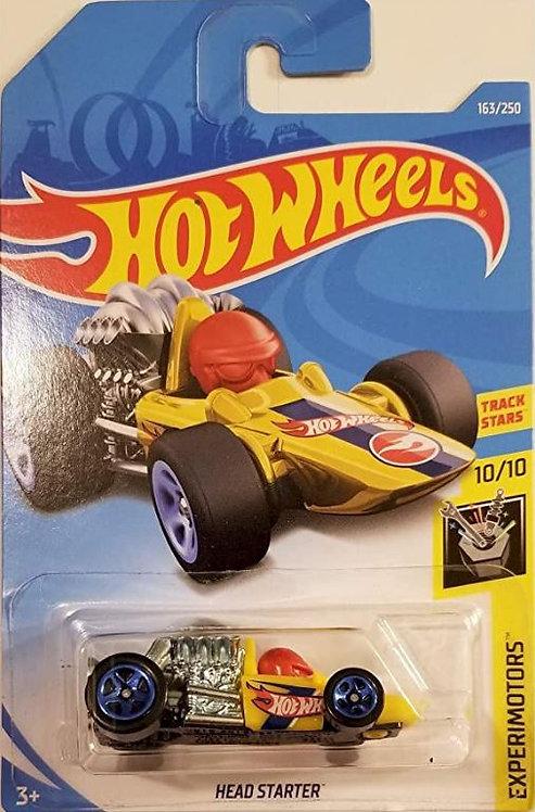 Hot Wheels Experimotors Track Stars: Head Starter