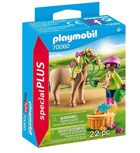 Playmobil 70060 Girl with Pony