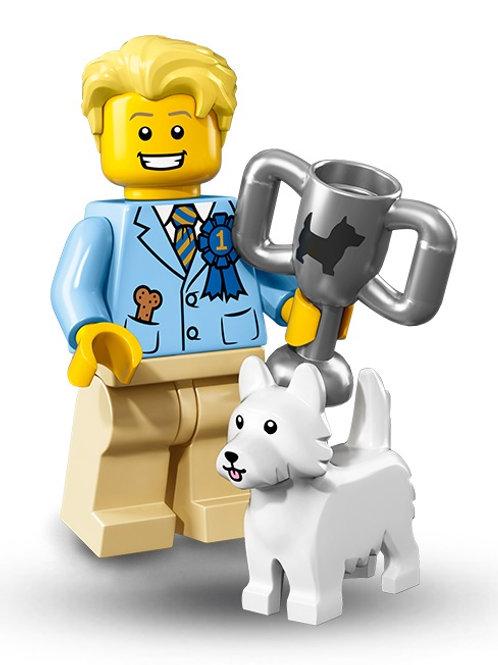 Lego Minifigür Seri 16 Dog Show Winner