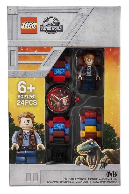 LEGO Jurassic World 8021261 Owen Minifigure Link Buildable Watch