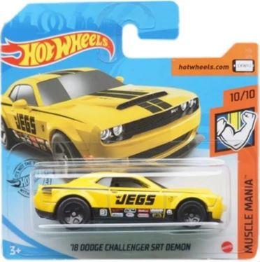 Hot Wheels 18 Dodge Challenger SRT Demon
