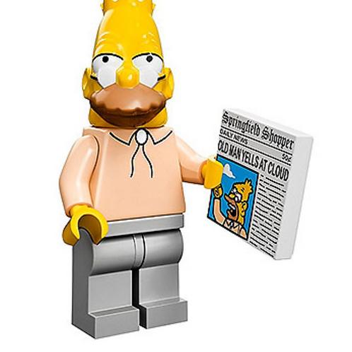 Lego Minifigür Simpsons Grampa Simpson No:6