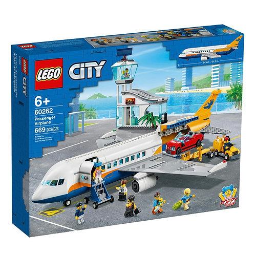 Lego City 60262 Yolcu Uçağı