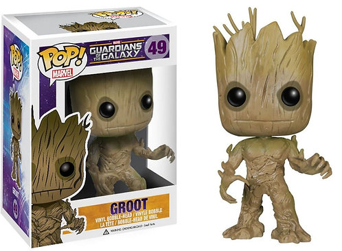 Funko Pop Marvel Guardians Of The Galaxy 49 Groot