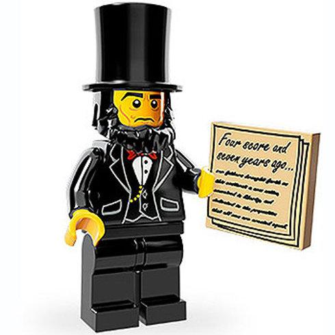 Lego Minifigür Movie Seri Abraham Lincoln
