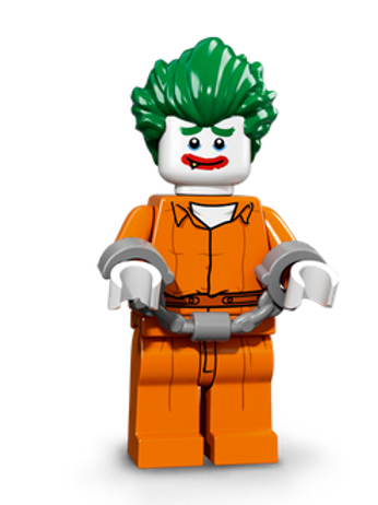 Lego Minifigür Batman Seri 1 The Joker™ – Arkham Asylum
