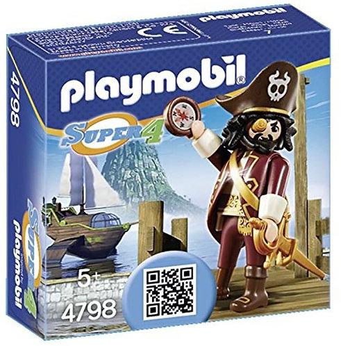 Playmobil 4798 Super 4 Sharkbeard