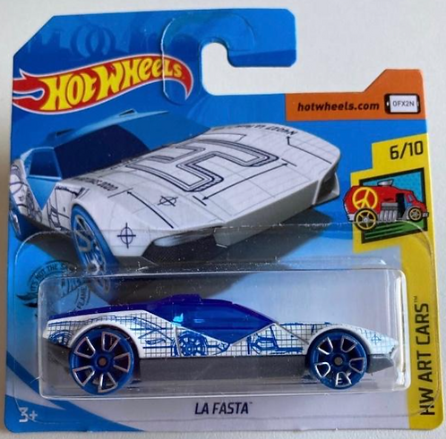 Hot Wheels La Fasta