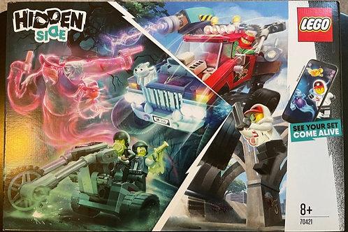 OUTLET - LEGO Hidden Side 70421 El Fuego'nun Gösteri Kamyonu