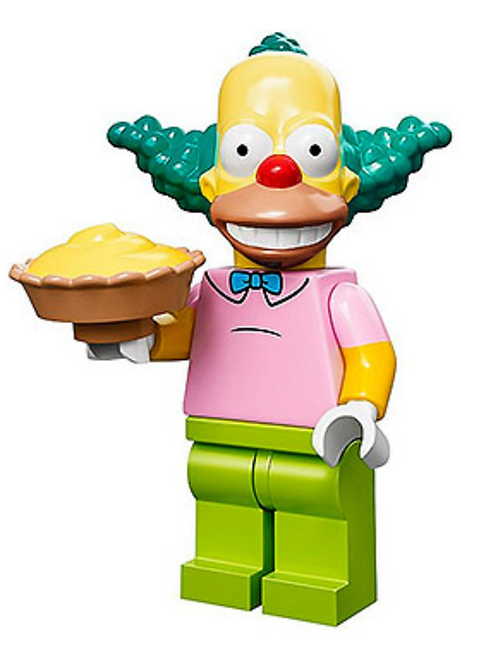 Lego Minifigür Simpsons Krusty The Clown No:8