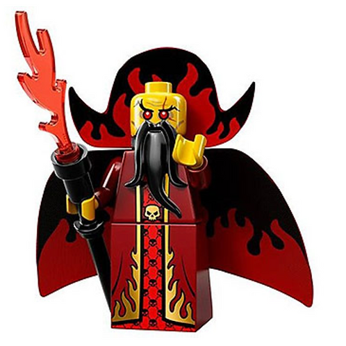 Lego Minifigür Seri 13 Evil Wizard No:10