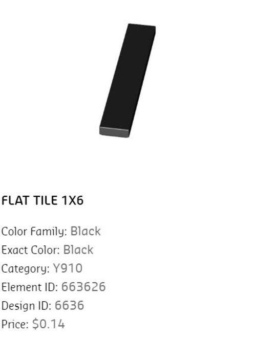 Flat Tile 1x4