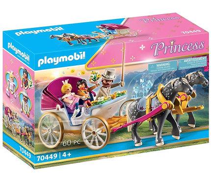Playmobil Horse Drawn Carriage 70449 Princess World