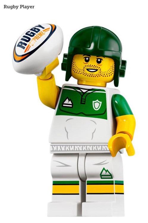 Lego Minifigür Seri 19 Rugby Player