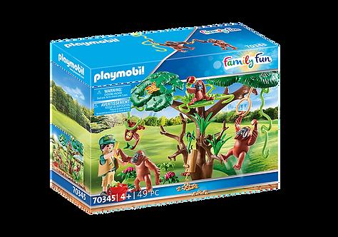 Playmobil 70345 Orangutans with Tree
