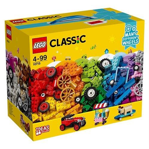 Lego 10715 Classic Tekerlekli Yapım Parçaları