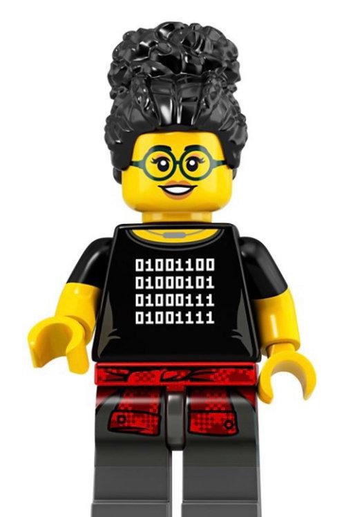 Lego Minifigür Seri 19 Coder Girl
