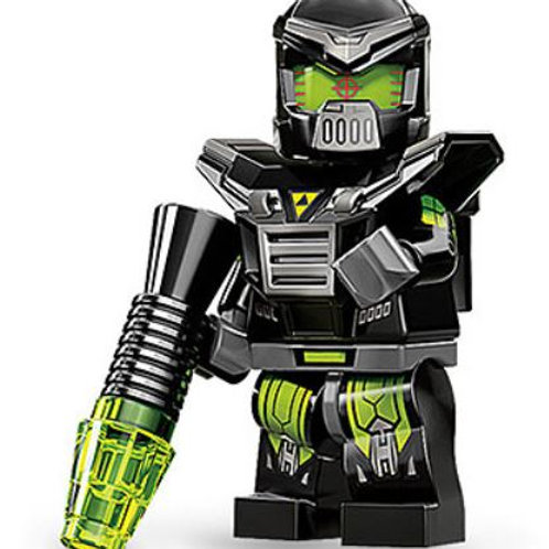 Lego Minifigür Seri 11 Evil Mech No:4