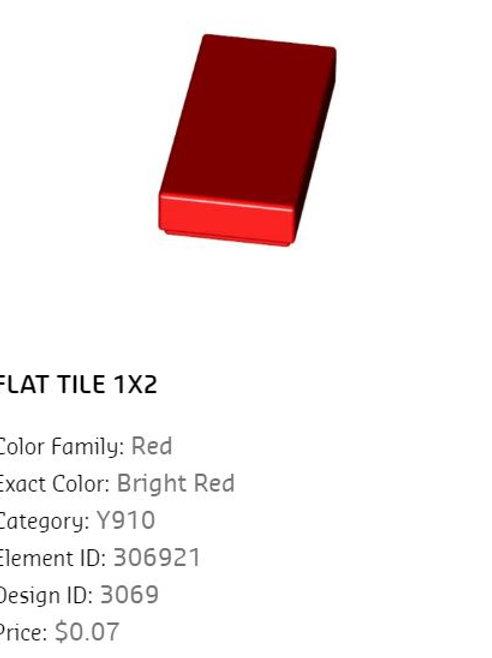 Flat Tile 1x2