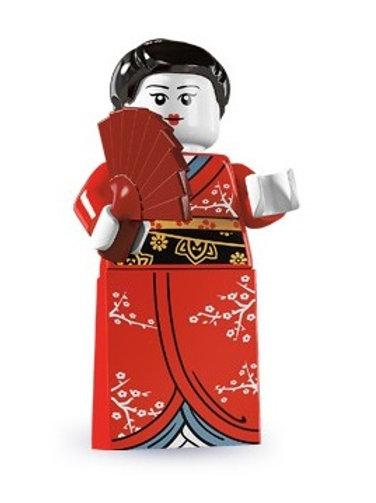 Lego Minifigür Seri 4 Kimono Girl