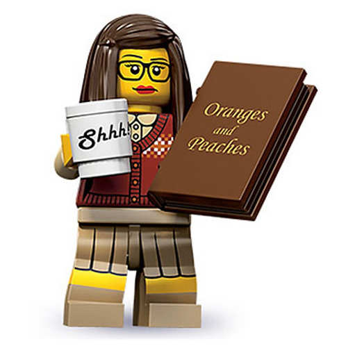 Lego Minifigür Seri 10 Librarian No:1