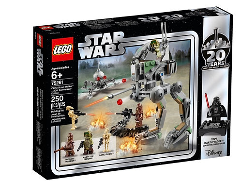 Lego Star Wars 75261 Clone Scout Walker™ – 20th Anniversary Edition