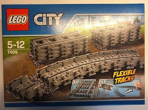 Lego City 7499 Flexible Tracks