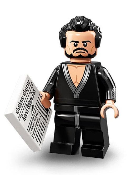 Lego Minifigür Batman 2 Seri General Zod