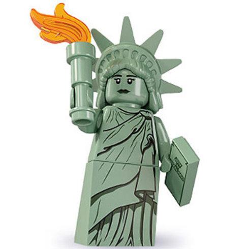 Lego Minifigür Seri 6 Lady Liberty