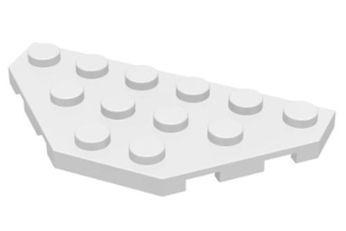 Part 2419 Wedge, Plate 3 x 6 Cut Corners