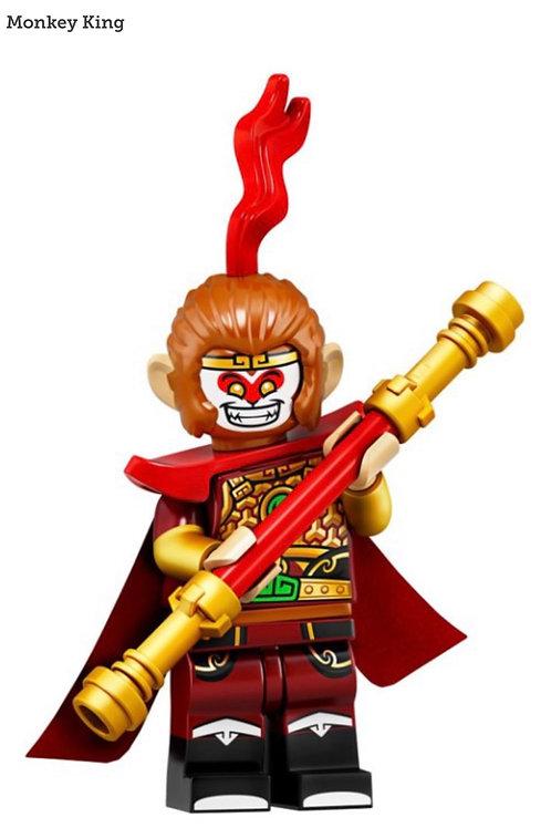 Lego Minifigür Seri 19 Monkey King