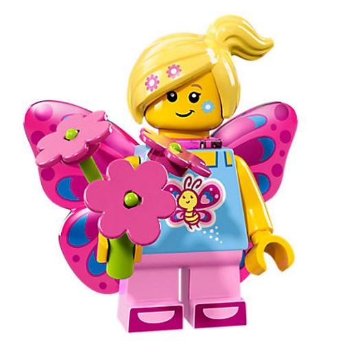 Lego Minifigür Seri 17 Butterfly Girl