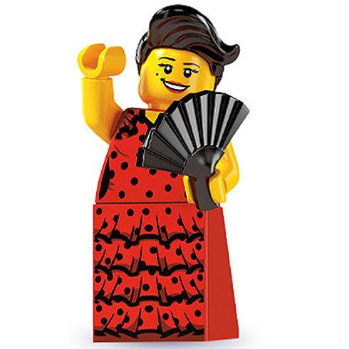 Lego Minifigür Seri 6 Flamenco Dancer