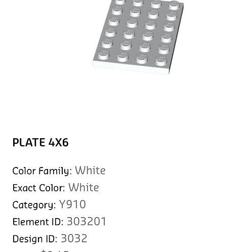 Plate 4x6