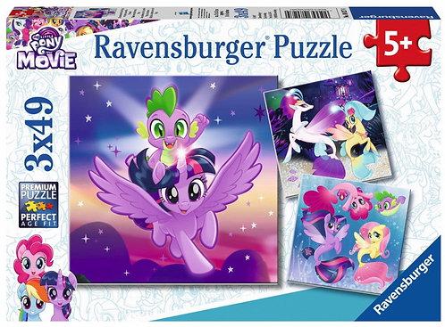 Ravensburger 3x49 (080274) My Little Pony