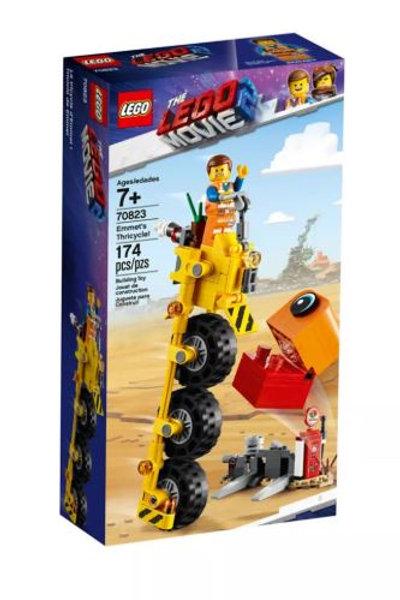 Lego Movie 2 70823 Emmet's Thricycle!