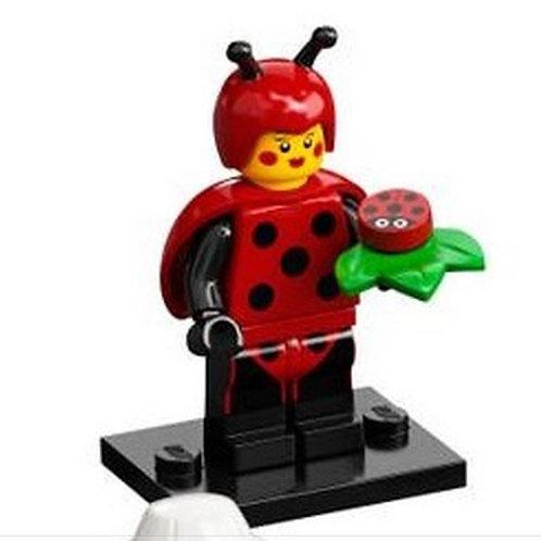 Lego Minifigür Seri 21 - 4 Ladybird Girl