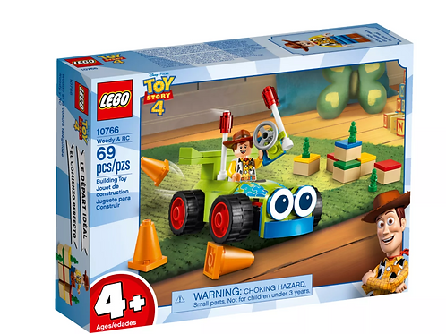 Lego Juniors 10766 Toy Story 4 Woody & RC