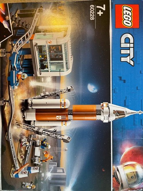 OUTLET - Lego City 60228 Uzay Roketi Ve Fırlatma Kontrolü