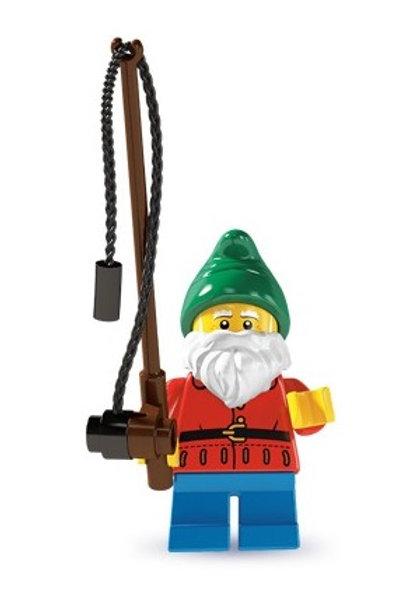 Lego Minifigür Seri 4 Lawn Gnome