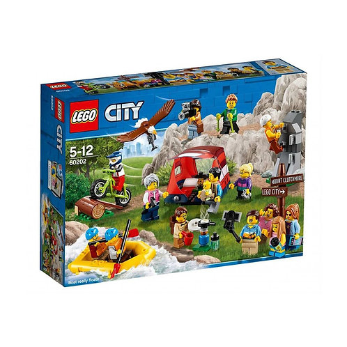 Lego City 60202 Outdoor Adventures People Pack