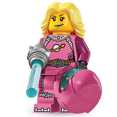 Lego Minifigür Seri 6 Intergalactic Girl