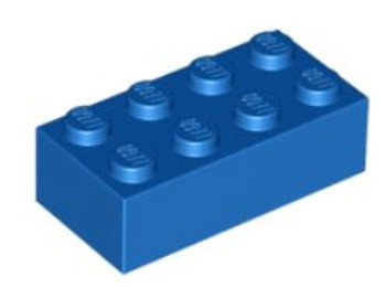 Part 3001 Brick 2 x 4 Blue