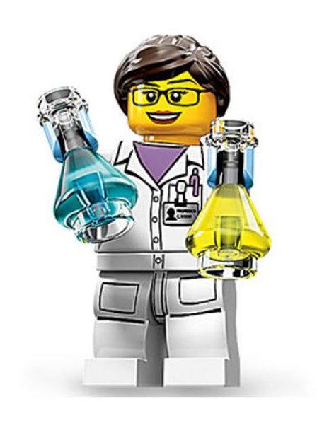 Lego Minifigür Seri 11 Scientist No:11