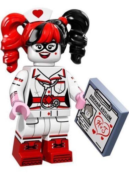 Lego Minifigür Batman Seri Nurse Harley Quinn