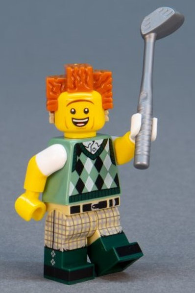 Lego Movie 2 Minifigure Series No:12 Gone Golf President Business