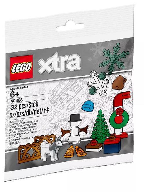 LEGO® xtra 40368  Xmas Accessories